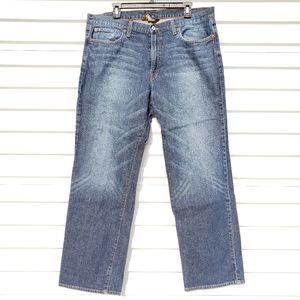 Lucky Brand straight fit jeans with short inseam